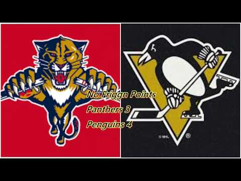 Florida Panthers Lose to Cup Champ Penguin Non Birds 4-3
