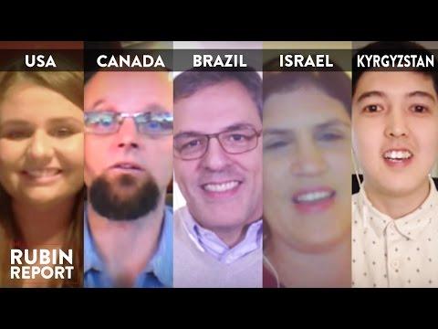 Rubin Report Fan Show: Tennessee, Canada, Brazil, Israel, Kyrgyzstan (3)