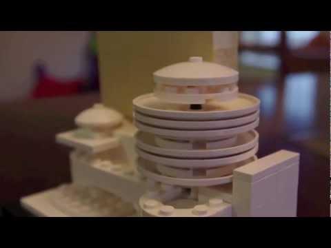 Lego Architecture - Solomon R. Guggenheim Museum, New York City. Set# 21004