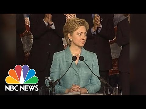 Hillary Clinton As Senator | Flashback | NBC News
