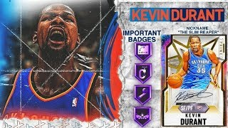GALAXY OPAL KEVIN DURANT GAMEPLAY! HANDS DOWN THE BEST CARD IN NBA 2k20 MyTEAM