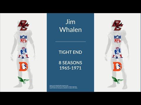Jim Whalen: Football Tight End