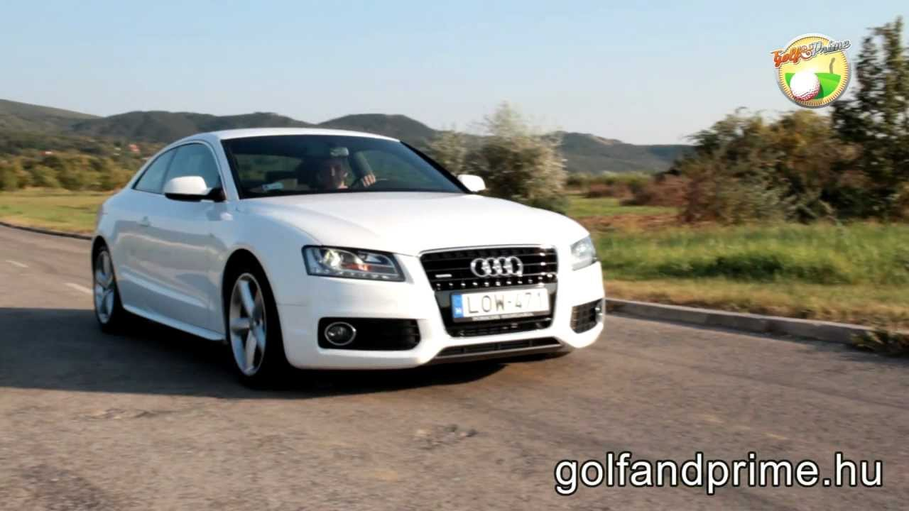 audi a5 3 0 tdi quattro tiptronic test youtube. Black Bedroom Furniture Sets. Home Design Ideas