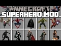 Minecraft SUPERHERO MOD   BECOME HULK AND SMASH YOUR ENEMIES AWAY   Minecraft