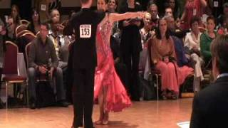 Peter Walker and Audrey Paek dance at Ohio Star Ball 2010 Pro-Am Open Smooth.VOB