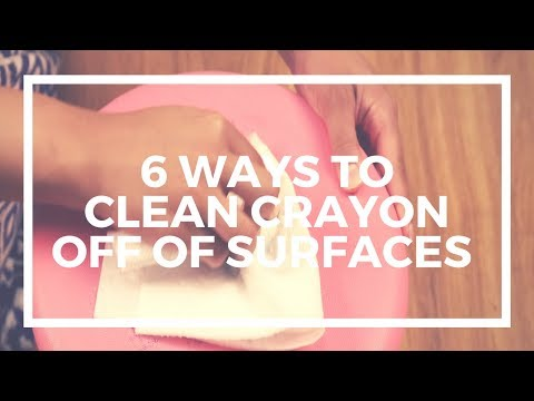 6 Ways to Clean Crayon Off of Surfaces | Kaplan Early Learning Company
