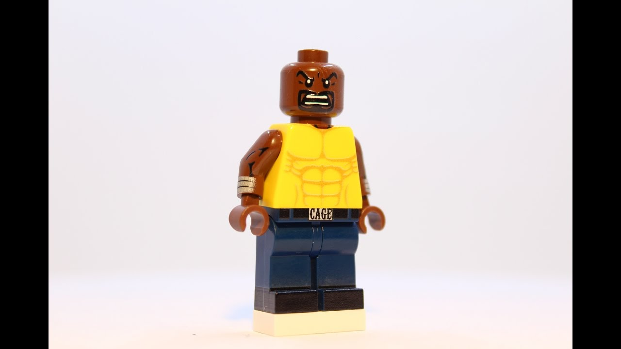 Custom LEGO Luke Cage - Powerman Minifigure by MinifigFX ...