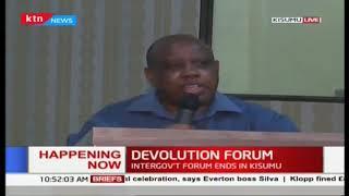 Pioneer Devolution Leaders address current challenges