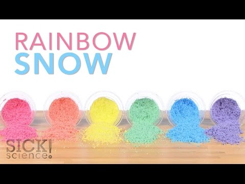 Rainbow Snow - Sick Science! #221