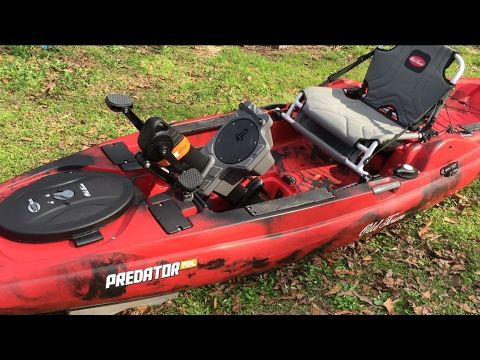 Old Town Predator Pdl Pedal Fishing Kayak Review Youtube
