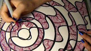 Time Lapse Drawing: Lines And Dots