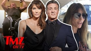Sylvester Stallone's Wife Still has The Hots For Him!   TMZ TV