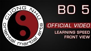 Cuong Nhu Bo 5 - Official Kata - Learning Speed - Front View