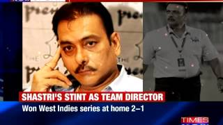 Ravi Shastri named India