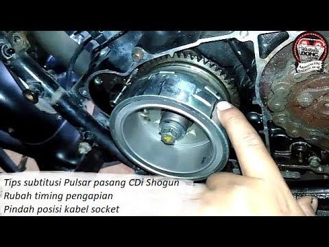 Tips Rubah Pengapian pulsar 180 subtitusi CDi shogun - YouTube
