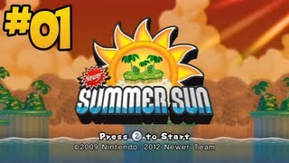 Newer Super Mario Bros. Summer Sun - Episode 01