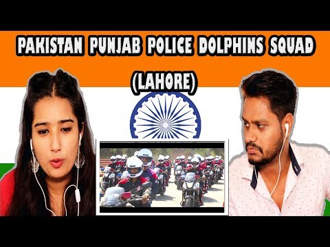 Indian Reaction On Pakistan Punjab Police Dolphins Squad (Lahore) | Krishna views