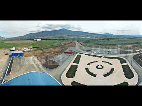 The Airport of Stepanakert (Nagorno Karabakh Republic)