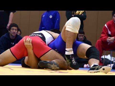 Freestyle Wrestling NSSU vs Nihon - PIN