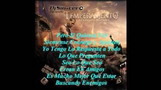 20. Temperamento - Hoy Te Escuchare (El Fin Del Mundo The Mixtape 2008) Con Letra