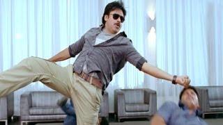 Attarintiki Daredi Scenes || Fight Scene In Hotel - Pawan Kalyan, Samantha