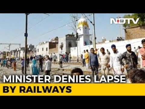 Railways Says Not Informed About Dussehra Event, No Action Against Driver