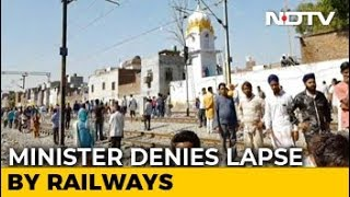 Railways Says Not Informed About Dussehra Event, No Action Against Driver thumbnail