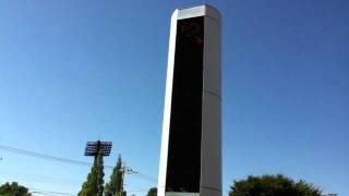 埼玉警察運転免許センターの電光掲示板 iPod touch(2010 4th Gen)のカメ...