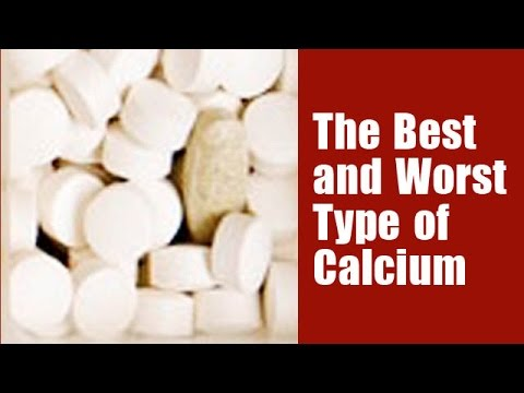 The Best and Worst Type of Calcium