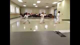 Taikyoku Shodan Kata - 7 year olds Shotokan Karate