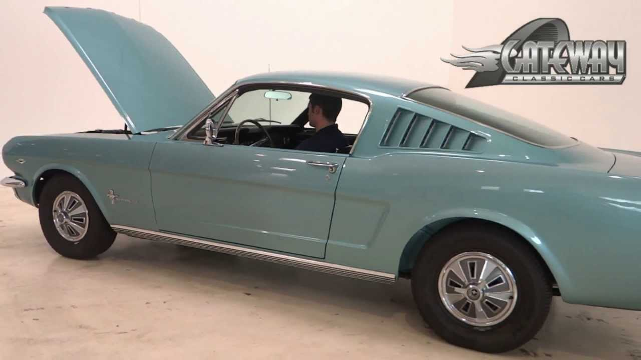 1966 ford mustang 2 2 fastback for sale