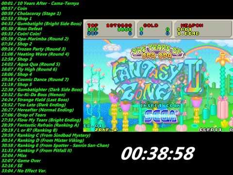Sega: Fantasy Zone II (System16) Soundtrack