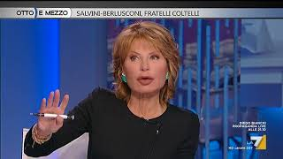 Otto e mezzo - Salvini - Berlusconi, fratelli coltelli (Puntata 19/01/2018) thumbnail