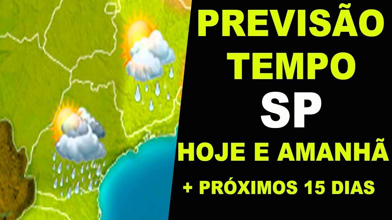 Previsão Do Tempo Em Sp Hoje Agora E Previsão Para Amanhã