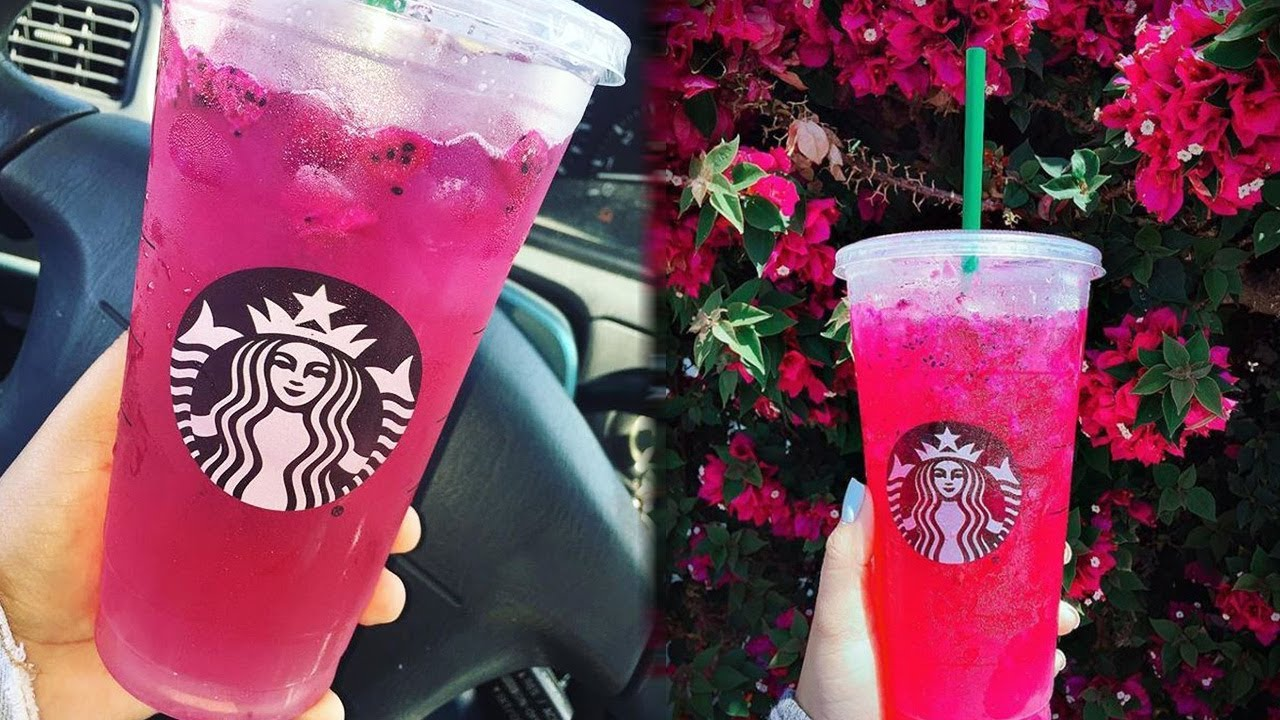 Starbucks Debuts Refreshing New Mango Dragonfruit Drinks Youtube