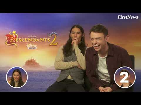 Booboo Stewart and Thomas Doherty take our villains quiz!
