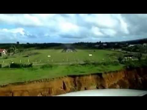 Palanan Landing cocpit view