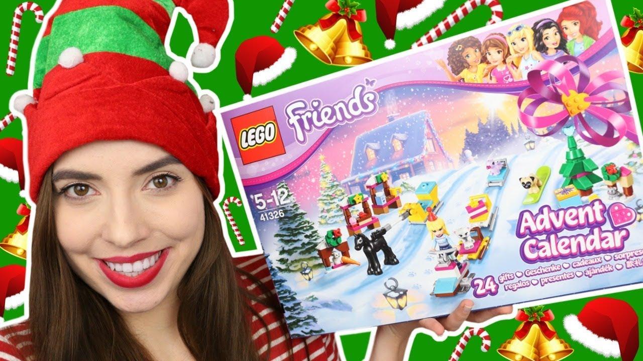 Kalendarz Adwentowy Lego Friends 2017 Youtube