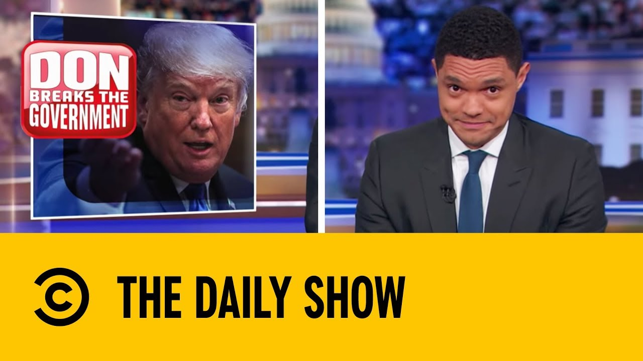 How Long Will the Government Shutdown Last?   The Daily Show With Trevor Noah