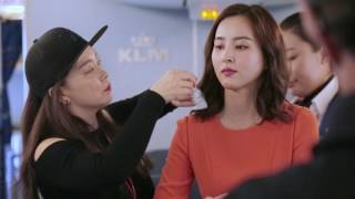 KLM 네덜란드 항공 홍보대사 한혜진 광고촬영  메이킹 필름 (Behind the Scenes of KLM Korea Brand Ambassador Han Hye-Jin)