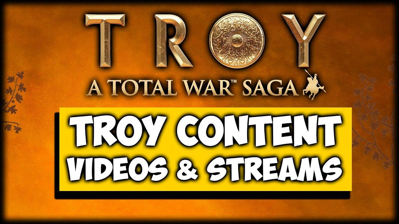 NEW LET'S PLAYS - Total War Saga: Troy, Wood Elves, 3K Nanman DLC Plans!