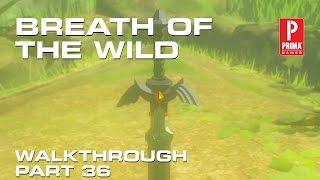 zelda part 36 the master sword lost woods korok forest keo ruug shrine