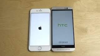 iPhone 6S vs. HTC One M9 - Which Is Faster?