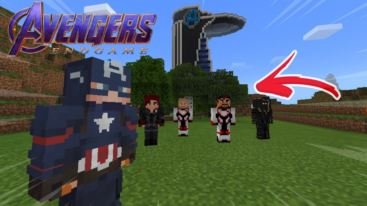 Skin Pack Avengers Endgame For Minecraft Pe Minecraft Pocket Edition