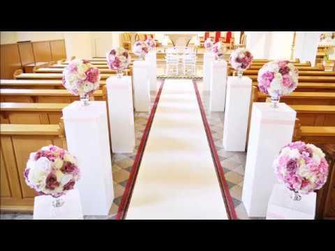 Dekoracje Weselne Sal Kościołów ślub Wesele Dekoracje ślubne