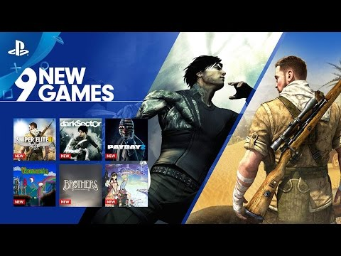 9 New Games on PlayStation Now | PS4