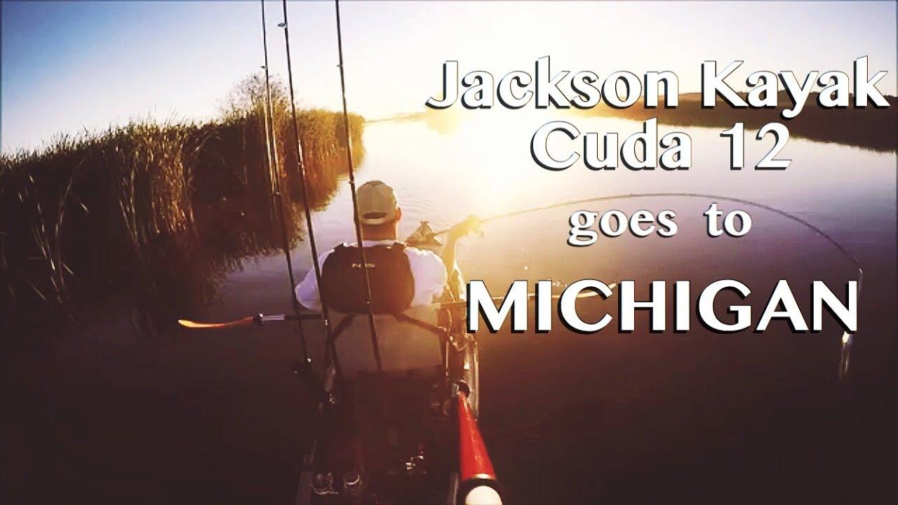 Jackson kayak cuda 12 goes to pure michigan 3 day kayak for Michigan one day fishing license