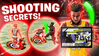 NBA 2K20 Shooting Secrets Nobody Wants You To Know! Set Your Feet Fast + Greenlight Method Exposed🤫