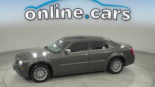 R12247RO Used 2010 Chrysler 300 Gray Sedan Test Drive, Review, For Sale