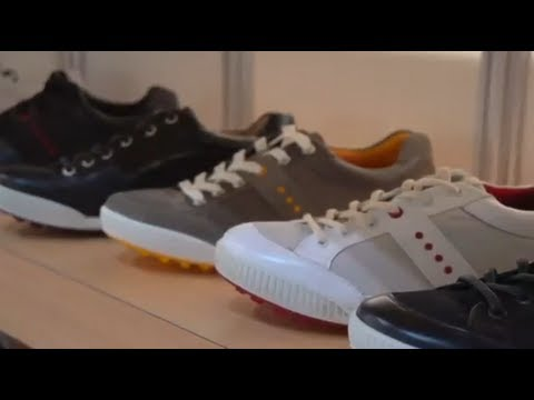 Ecco: Stylistic Leather Golf Shoes